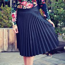 pleated skirts how to wear a pleated skirt popsugar fashion
