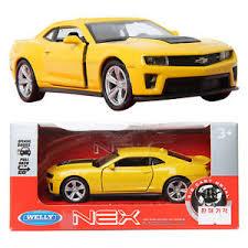 camaro zl1 for sale ebay welly 1 34 chevrolet camaro zl1 yellow die cast