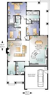 Floor Plans For 1500 Sq Ft Homes 238 Best Bungalows Under 1400 Sq U0027 Images On Pinterest House