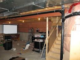 unfinished basement storage ideas unfinished basement ideas for