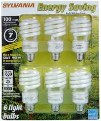 sylvania 29490 23 watt cfl mini twist light bulb soft white 6