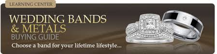 mens wedding bands that don t scratch fred meyer jewelers metals guide wedding band metal types