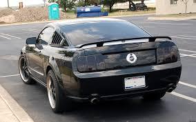 Mustang Gt Black Black Mustang Gt 2 By Mrdahk On Deviantart