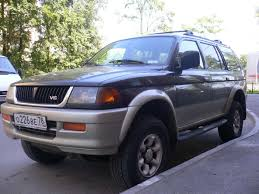 mitsubishi montero sport 1997 1999 mitsubishi montero sport photos 3 0 gasoline automatic for