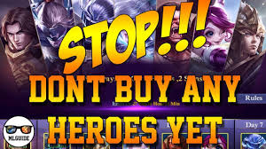 don t buy any heroes yet thanksgiving event from mobile legends