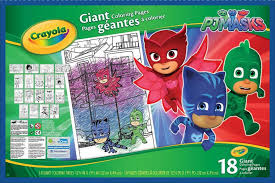 pj masks giant coloring pages toys