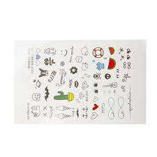 aliexpress com buy 1 sheet cartoon kids fake temporary tattoo
