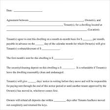 printable lease agreement 13 documents download for free in pdf