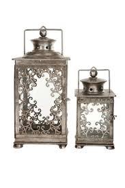 ornaments silver scroll lantern large frances brown