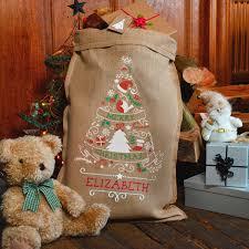 the tree santa sack santa sacks