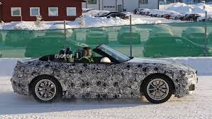 Bmw Z5 Price Bmw Z5 Caught Testing Out Of Its Element On Icy Roads
