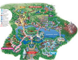 Walt Disney World Maps by Disney World Adventure Disney Animal Kingdom Map