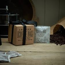 espresso coffee bag coffee bag sachet gift box trio by london coffee bag