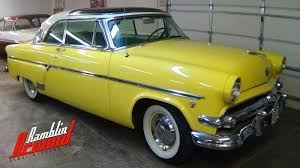 Classic Ford Truck Glass - 1954 ford skyliner glass roof 239 v8 youtube