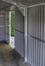 metal garages green outdoor steel storage buildings anthracite