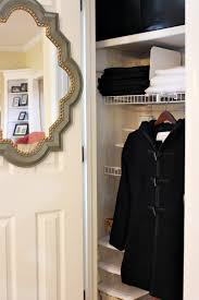 Coat Closet by An Organized Entertaining Closet Uncommon Designs