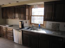 Kitchen No Backsplash Kitchen Countertops Without Backsplash Laminate Kitchen