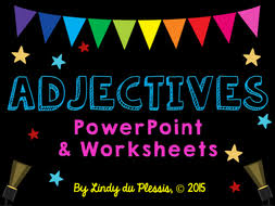 adjectives by lindylovestoteach teaching resources tes
