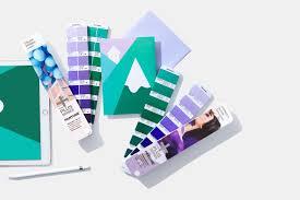 pantone coated combo pms set formula guide and color bridge