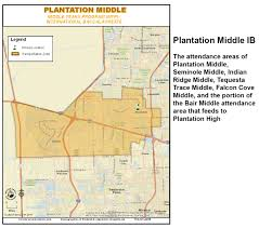 Map Of Sunrise Florida by International Baccalaureate Middle Years Program Broward Schools