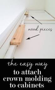 How To Install Crown Molding On Kitchen Cabinets How To Miter Crown Molding At Any Angle Moldings Crown And Math