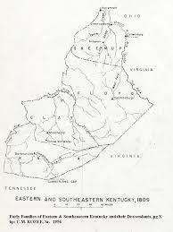County Map Kentucky William 6 Woodhull Jayne Ny U0026 Ky