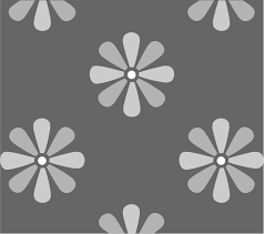 large daisy flower wall stencil available to buy online from the uk