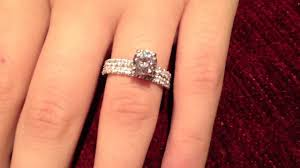 gorgeous engagement rings gorgeous engagement ring with a matching band each has 2mm width