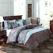 Blue And Brown Bed Sets Comforter Sets King Brown Ofor Me