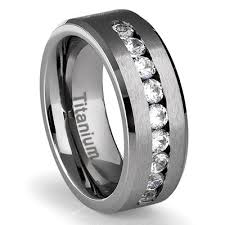 titanium diamonds rings images Titanium diamond rings for men wedding promise diamond jpg
