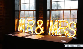 light up letters diy diy light up wedding marquee