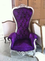 throne chair rental nyc the chair throne and king chair buy purple