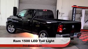2014 ram 1500 tail lights spyder auto installation 2009 14 dodge ram trucks 1500 2500 3500