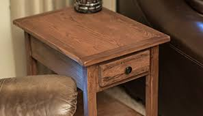 How To Make End Tables With Drawers by End Table With Remote Drawer Buildsomething Com