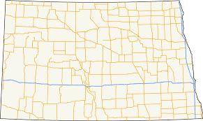 Lake Sakakawea Map List Of State Highways In North Dakota Wikipedia