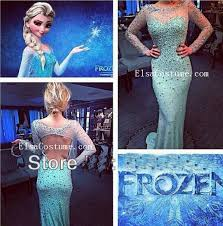 elsa costume frozen dress custom made by osca ed1006 196 00 elsa costume