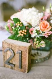 table numbers for wedding wedding table number ideas gorgeous rustic wedding table