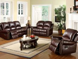 Leather Reclining Sofa Set by Living Room 21 Reclining Sofa In Living Room
