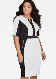 buy womens plus size colorblock dresses ashley stewart
