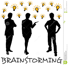 team brainstorming stock illustration image of creative 47100339