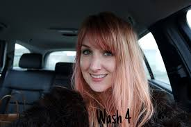 Washing Hair After Coloring Red - bleach london i saw red dye and wash out lauren loves blog