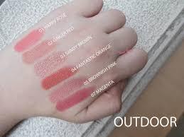 Lipstik Lt Pro Lip lt pro glossy lipstick 01 happy 02 03 brown