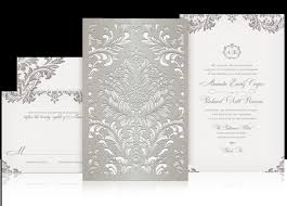 laser cut wedding programs laser cut wedding invitation inspired by lace invitations