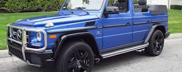 mercedes g wagon convertible for sale g63 convertible