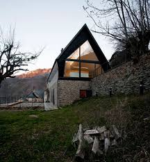 contemporary mountain house alpine house pinterest mountain
