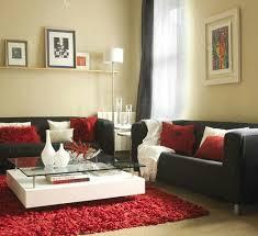 red and black living room designs muebles de salon a sofá negro living rooms room and black