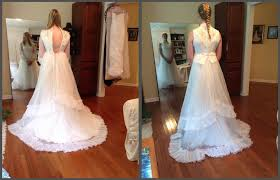 wedding dress alterations near me my mothers wedding dress circa 1977 and present after alterations