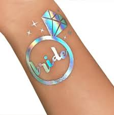 metallic tattoo stickers designs gold and silver temporary tatoo