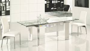 dining tables modern square dining table expandable glass dining