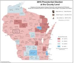 Wisconsin Lake Maps by Wisconsin Election Maps And Results University Of Wisconsin Eau